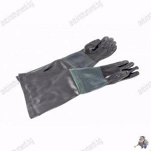 Предпазни ръкавици за пясъкоструене
